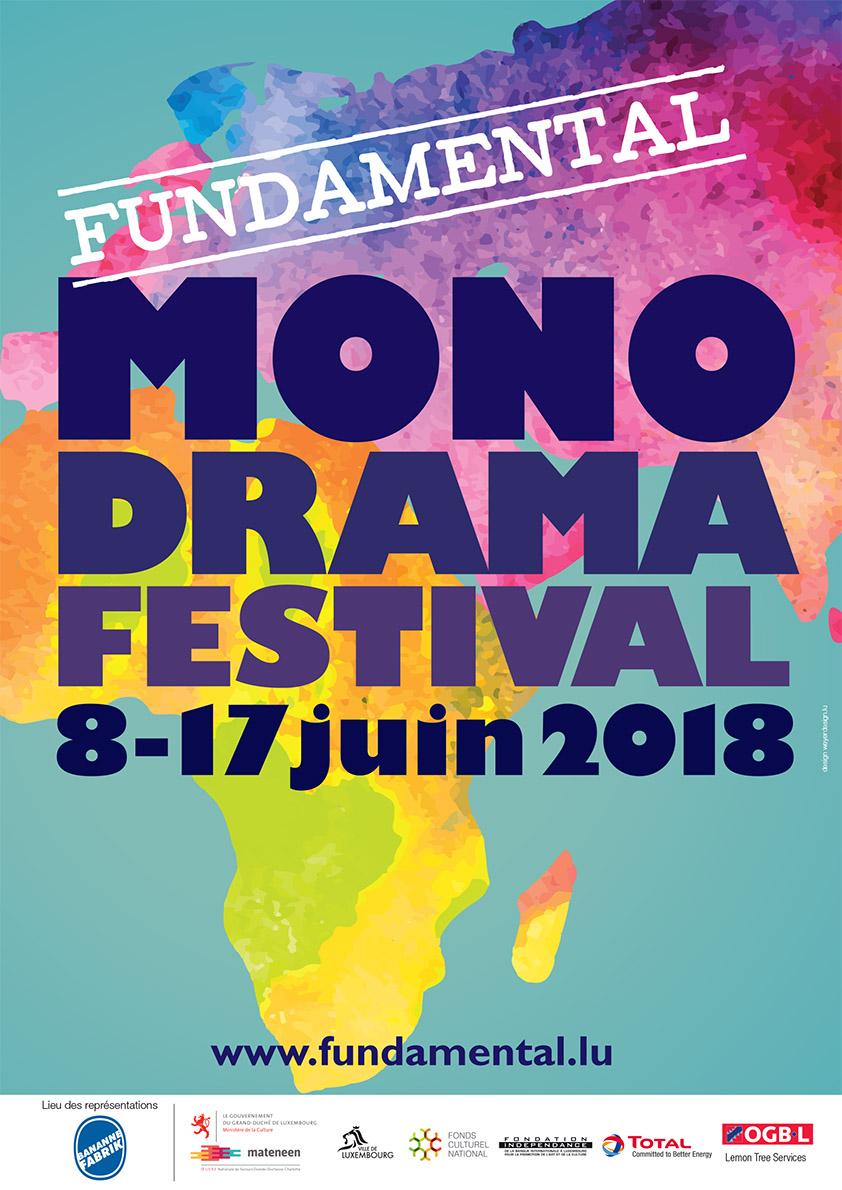 2018 Affiche du Fundamental Monodrama copy