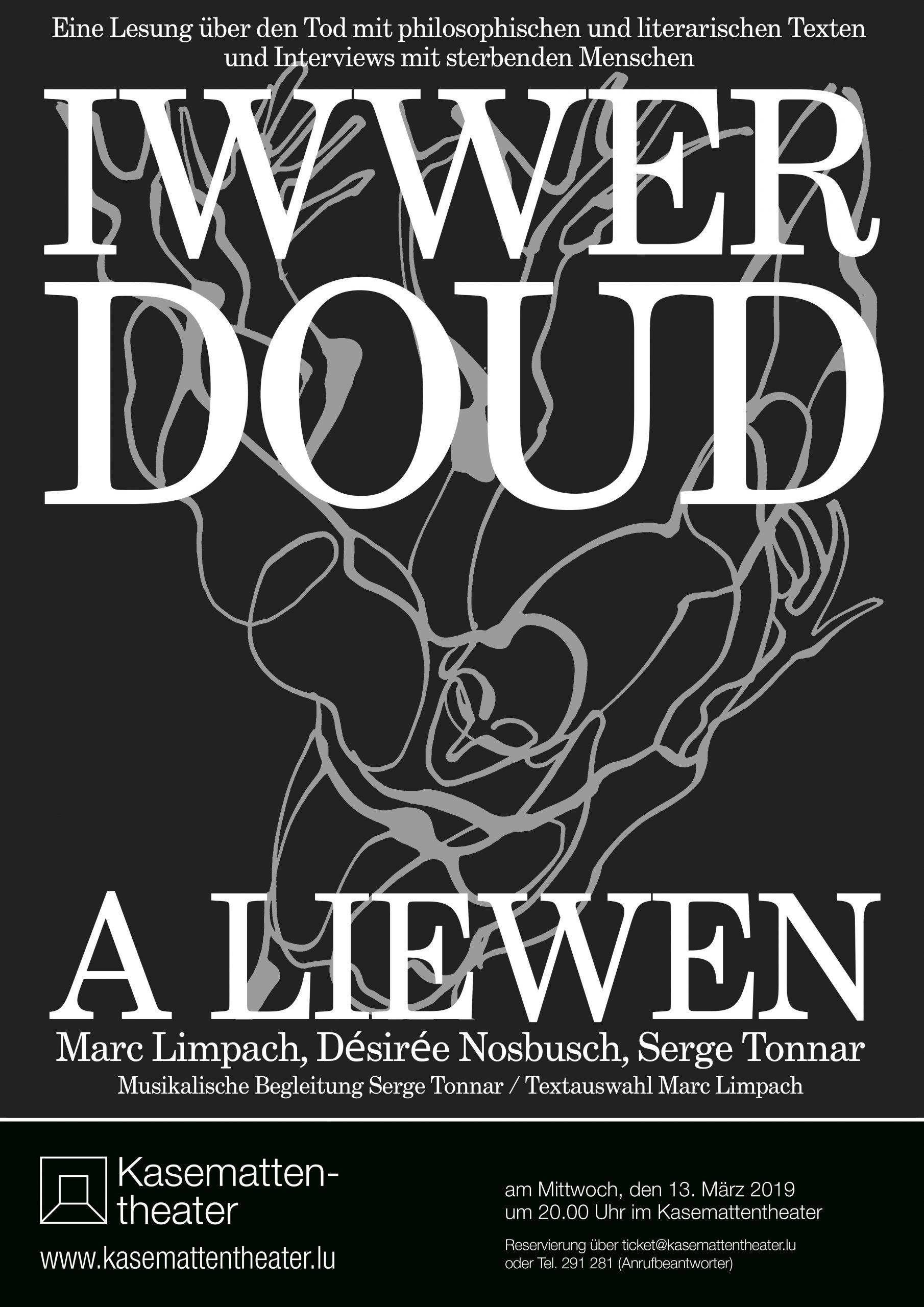 2019 Affiche Iwwer DOUD a LIEWEN