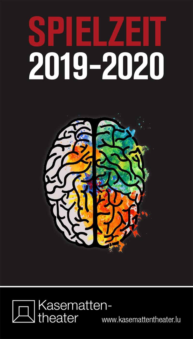 Cover Programm Spielzeit 2019-20 Kasemattentheater Luxemburg